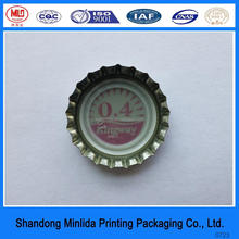 strict quality control metal beer bottle cover food grade