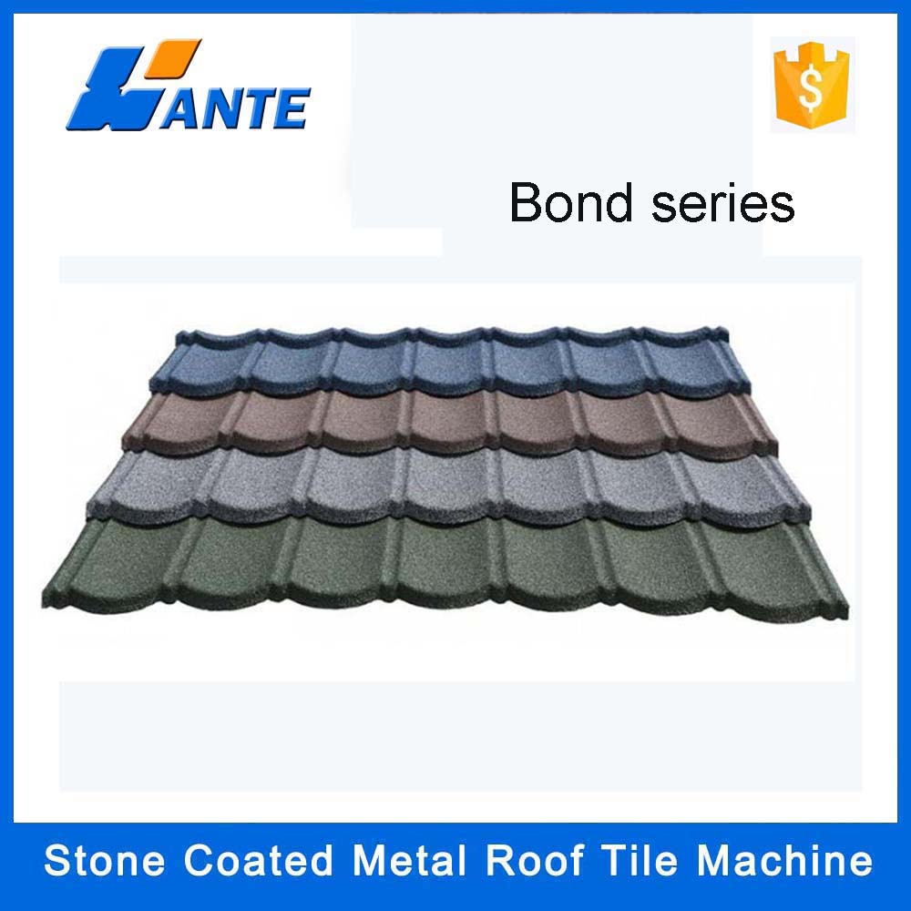 colored metal roofing prices,sand coated metal roofing tiles