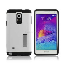New Style Tough Armor PC+TPU Combo Case With Metal Slate For Samsung