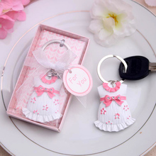 Baby Shower Giveaways Baby Dress Key Chain Hot Selling Gift Items