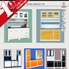 Pre assembeled stainless steel kitchen cabinet/cheap kitchen cabinets/steel dish rack