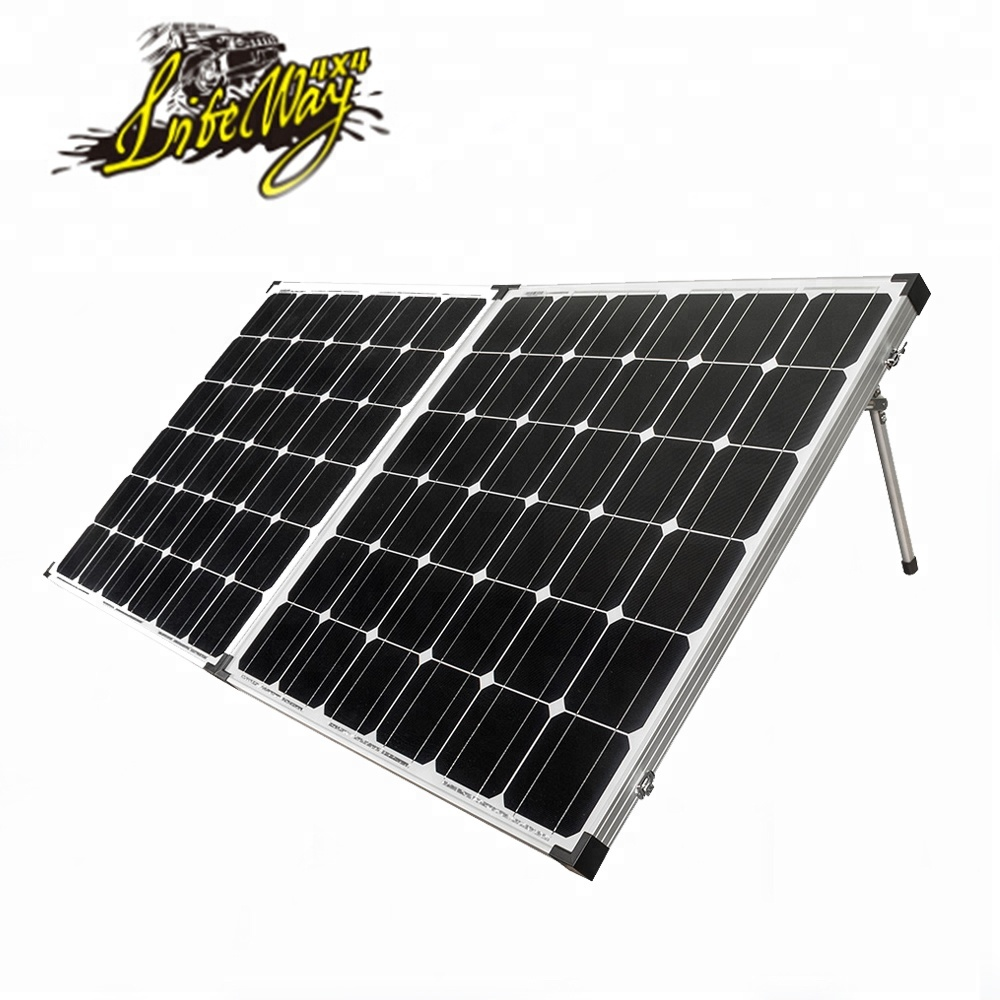 12V 250W A Grade Mono Charging Portable Folding Solar <strong>Panels</strong> 250 watt For Home System