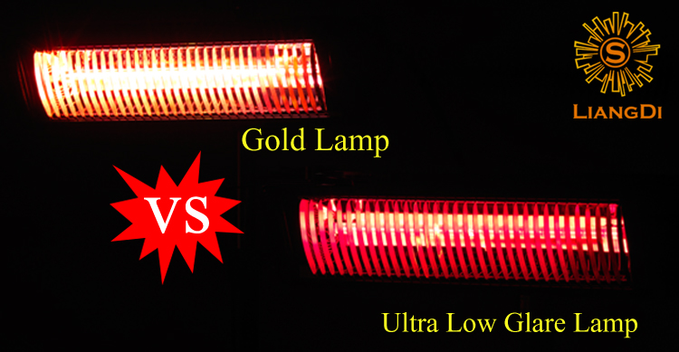 2000w Low/ Ultra Glare Electric Infrared Heating Heaters
