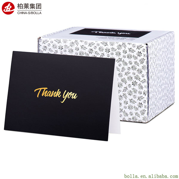 Wholesale Gold Foil Thank You Cards, Thank You Greeting Cards Printing And Packaging