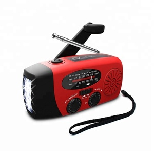 Dynamo AM/FM/NOAA Power Bank Emergency Solar Flashlight Hand Crank Radio