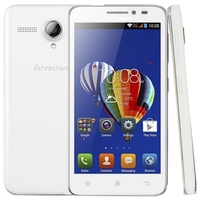 Wholesale Lenovo A606 4GB 5.0 inch 4G Android 4.4 Smart Phone, MT6582M + 6290 Dual Core 1.3GHz, RAM: 512MB,FDD-LTE & WCDMA & GSM