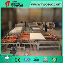 LVJOE PVC film gypsum board laminating machine/plant /equipment