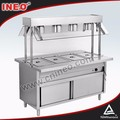 Table top Commercial stainless steel food warmer/commercial food warmers