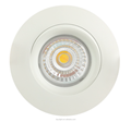 95Ra Smart Plus IP44 LED Downlight GYRO 9w dim warm 2000k-3000k downlight IP44