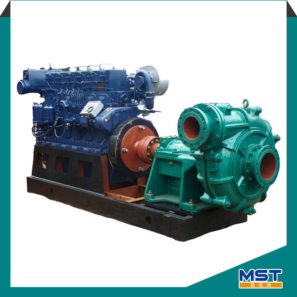 Diesel Engine Centrifugal Sand Mud Slurry Pump