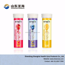 Energy Drink Vitamin C Effervescent Tablet OEM Manufacturer