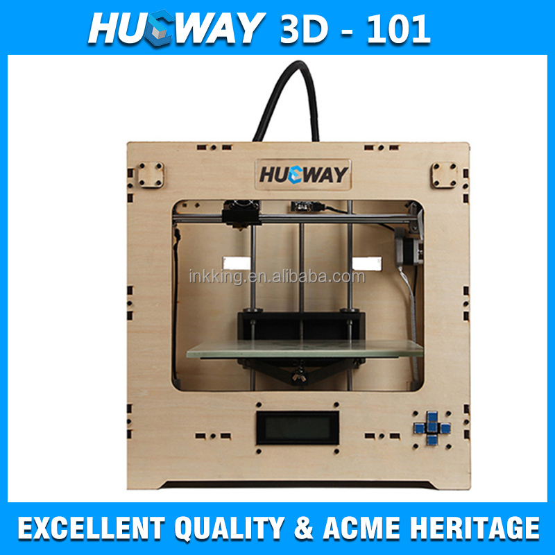 2015 3D Printer manufacturers sell HW101 3D printer on Wood