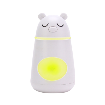 Factory Price Cartoon Bear LED USB Ultrasonic Air Humidifier Mini Essential Oil Aroma Diffuser for Home Office Car SPA