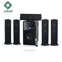 Speaker 5.1 home theatre systems bluetooth multimedia subwoofer with usb sd fm radio