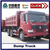 China 6*4 howo sinotruk tipper truck for sale