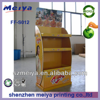 special cardboard counter sock display ,Approved Corrugated Cardboard shoe Counter PDQ Display ,cardboard counter display box