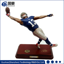Custom resin football game one rugby figurines