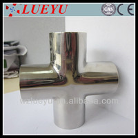 Popular products stainless steel pipe cross manufacture