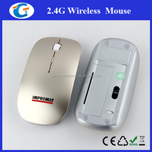 Ultra Thin USB Optical Wireless Mouse 2.4G Receiver Super Slim Mouse