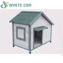 Prefabricated Wood Pet House For Dog
