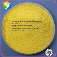 China supplier waste water treatment consultants solution yellow PAC