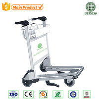 Hot Sale Aluminum Airport Luggage Cart