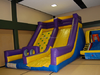 hot sale! Rockwall Obstacle and Slide/rock climbing wall and slide inflatable sports games
