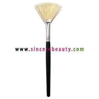 boar bristle fan brush