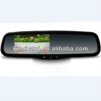 HOT SALE!!!4.3inch monitor auto rearview mirror for your car/your best choice