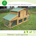 Eco-friendly outdoor luxury rabbit cage