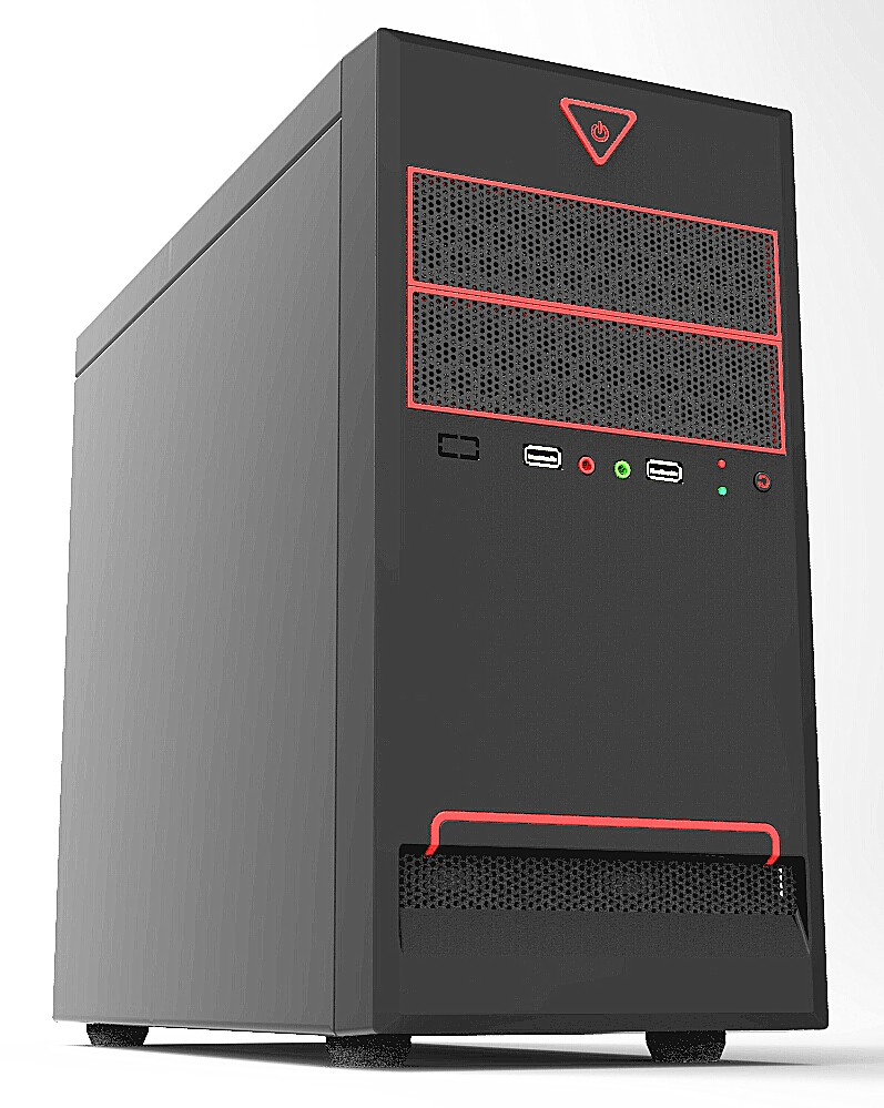 New Gaming Desgin Micro Computer Atx Case 0.4mm SGCC material