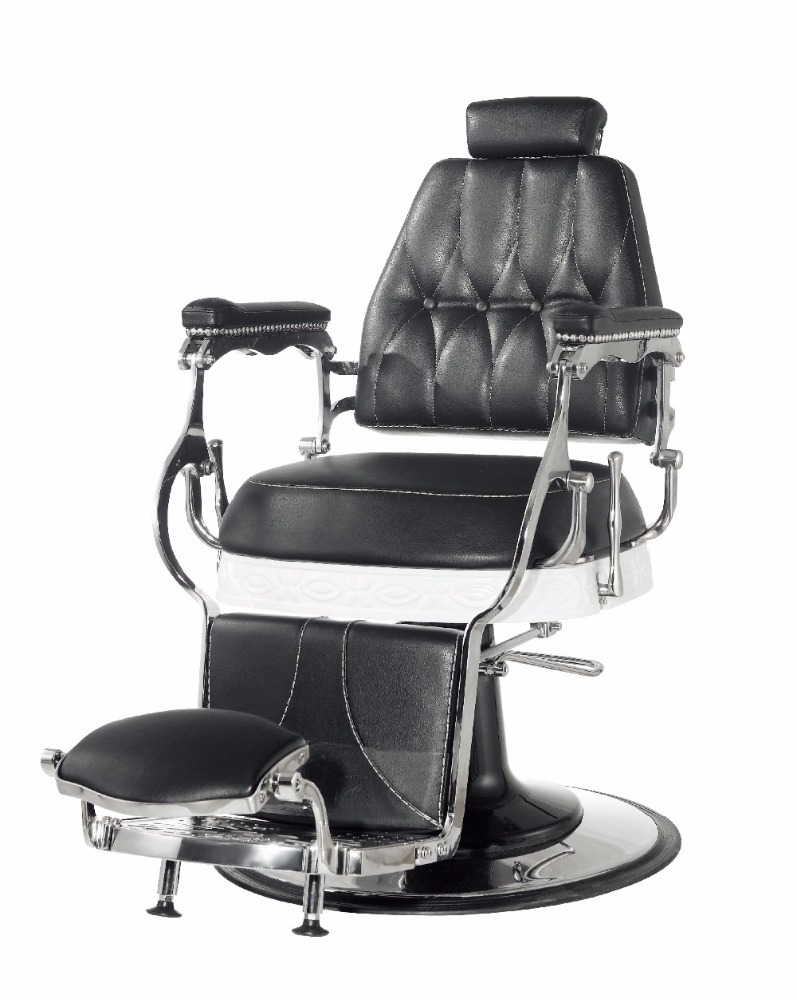 Utopia Black Color Classic Barber Chairs Hair Cutting Furniture Salon Equipment