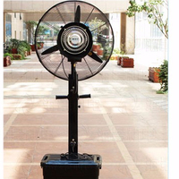 Factory Wholesale 26 Inch Outdoor Portable Misting Fan