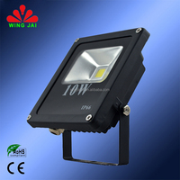 2015 hot sale high quality ip65 outdoor nice price super bright slim aluminum led reflector 10w