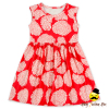 48BQA246 Yihong Flower&Deer Sleeveless Normal Style Dress For Summer Girls Cotton Fabrics For Dresses Wholesale Smocked Dresses