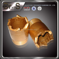Most popular products china base support diamond core drill bits for hard rock