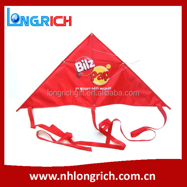 promotion gift polyester kite surfing, custom printed advertising outdoor kite