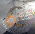 Clear crazy zorb ball for adult/inflatable human sized hamster ball