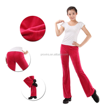 Wholesale Gymnastic Pants Dansgirl Deep Pink Women's Leisure Long Jazz Pants