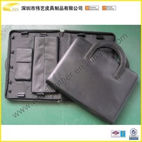 Portable Leather Car Document holder/Car Document Organizer With Handle,Shenzhen Factory