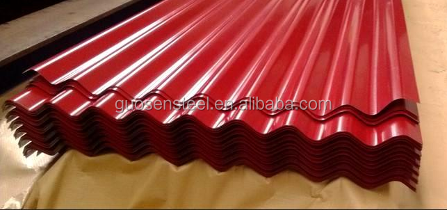 DX51D corrugated iron sheet/plate for roofing