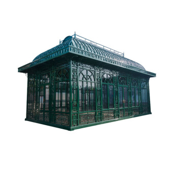 Antique wrought iron pavilion gazebo with Europe style