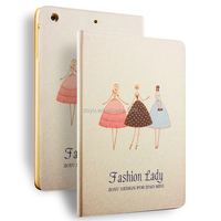 New Arrival Hot Sales fashion PU smart cover case for mini ipad cover