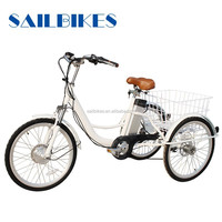 china tricycle three wheel electric bicycle with en15194