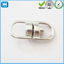 Metal Double Ended Key Chain Link Swivel Ring Connector