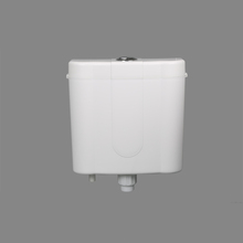 plastic PP material wall hanging full /partial flush toilet water tank