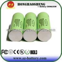 Rechargeable 3.7v 2250mAh lithium ion battery 18650