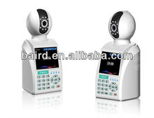HD wireless wifi video call two way voice ip camera with alarm module and built in battery