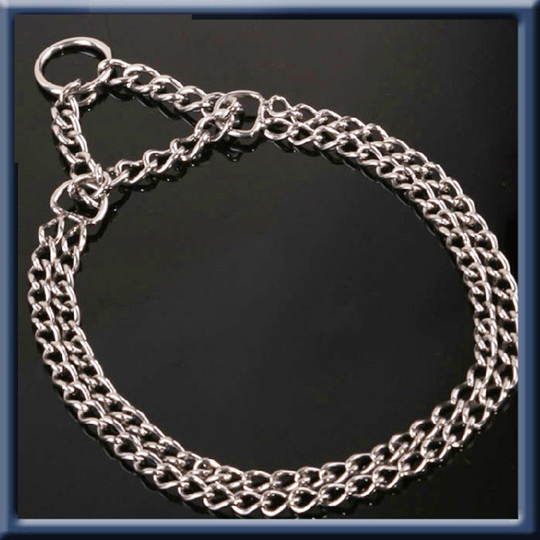 High quality stainless steel dog choke chain