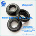 Black Silicone Rubber Grommet with FDA shore 70A